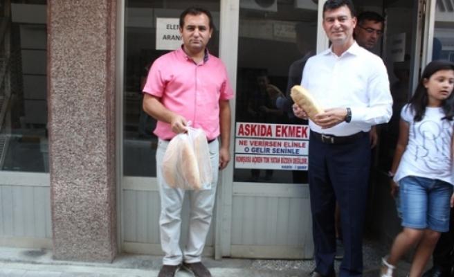 MHP Çine Teşkilatı'ndan 'Askıda Ekmek' Projesi'ne Destek
