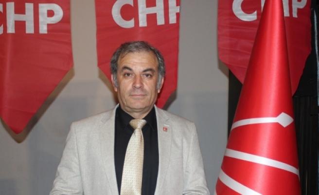 """CHP İlçe Başkanı Şahin, """"Ekonomik Kiriz kapıya Dayandı"""""""