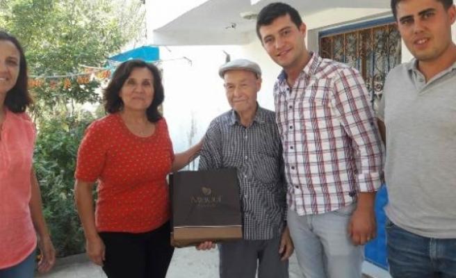 CHP'den Gazilere Ziyareti