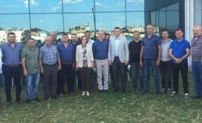 MHP Genel Başkan Yardımcısı Depboylu'dan Yeni Atanan Başkanlara Ziyaret