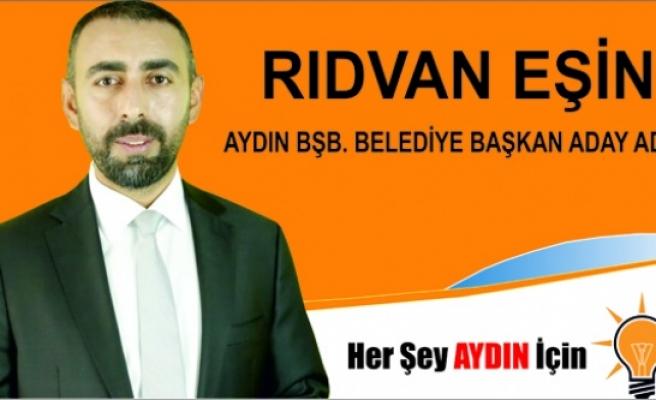 Rıdvan Eşin, AK Parti'den Aydın Büyükşehir Belediye Başkan aday adaylığını açıkladı