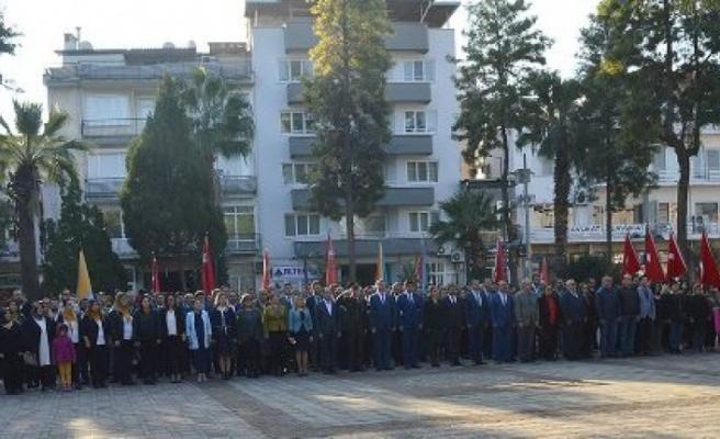 Çine'de 24 Kasım Öğretmenler Günü Kutlandı