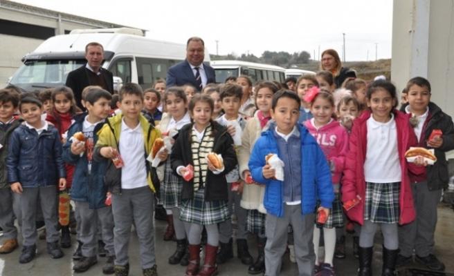 Başkan Dinçer, Eğitim Gezisi İçin Kapılarını Açtı
