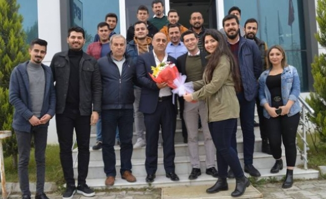 CHP'li Gençler Madenciler Gününü Kutladı