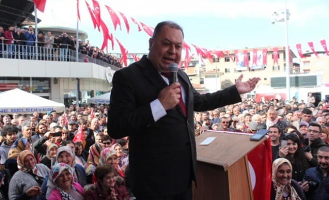 """Başkan Dinçer'den, """"Çine'den Rekor Oy Desteği Sözü"""""""