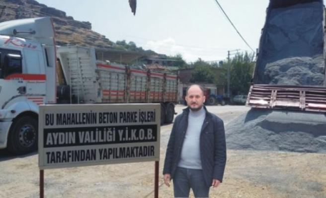 """AK Partili Başkan Tosun, """"YİKOB'tan Çine'ye Yol Hamlesi"""""""