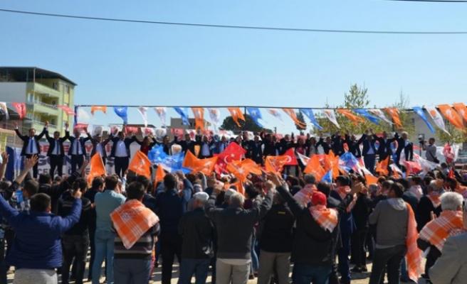 """Akçaova Mitinginde Celal Özden, """"CHP'de Korku Başladı Korku"""""""