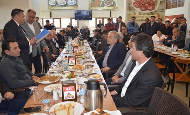 Başkan Dinçer, Şoför Esnafı İle Kahvaltıda Buluştu