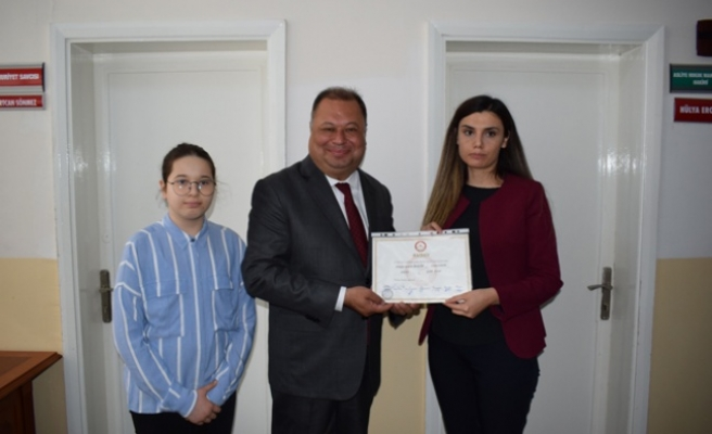 2. Kez Belediye Başkanı Seçilen Dinçer Mazbatasını aldı