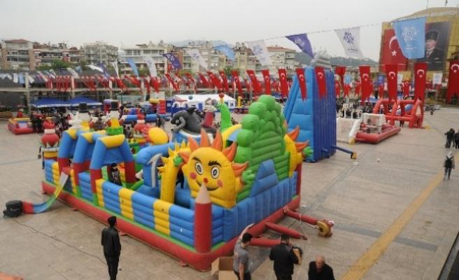 Büyükşehir Etkinlikleriyle 23 Nisan'da Çocuklar Eğlenceye Doyacak