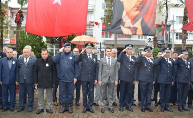 Çine'de 10 Nisan Polis Haftası Kutlandı
