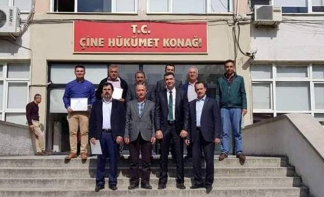 Karpuzlu Belediye Başkanı Dönmez Mazbatasını Aldı