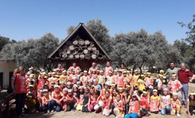 Çineli Çocuklar Büyükşehir Belediyesi Arıcılık Müzesi'ni Ziyaret Etti