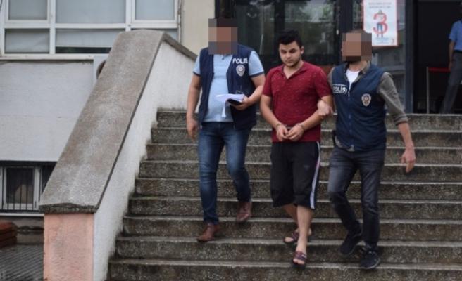 Kameradan Belirlenen Motosiklet Hırsızı Tutuklandı