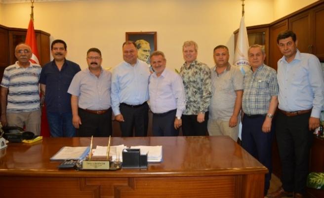 AYESOB, Başkan Dinçer'i Ziyaret Etti