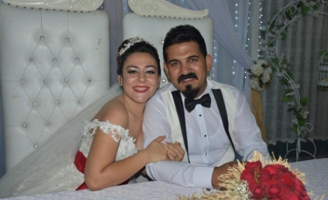 Volkan ile Bürşa Evlendi