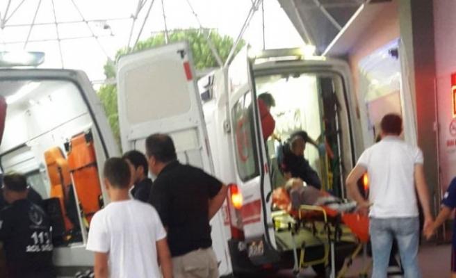 Çine'de İş Makinesinin Altında Kalan İşçi Yaralandı