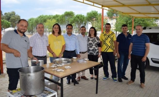 Mehmet Tuncer Anadolu Lisesi'nde Aşure Günü Etkinliği