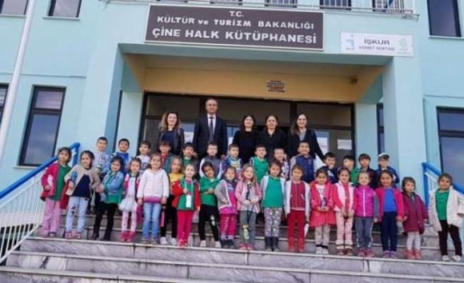 Çine Halk Kütüphane' si 6 Gün Açık