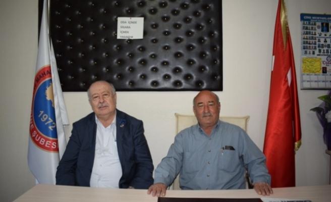 Muğla Muhtarlar Derneği Başkanı Gümüş'ten Başkan Kılcı'ya ziyaret