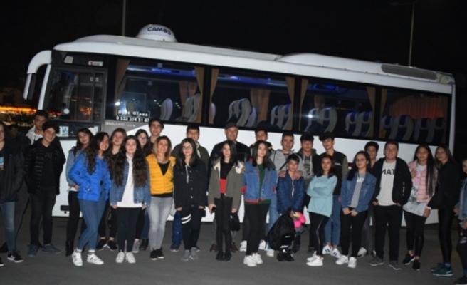 Öğrenciler Antalya'yı Gezdi