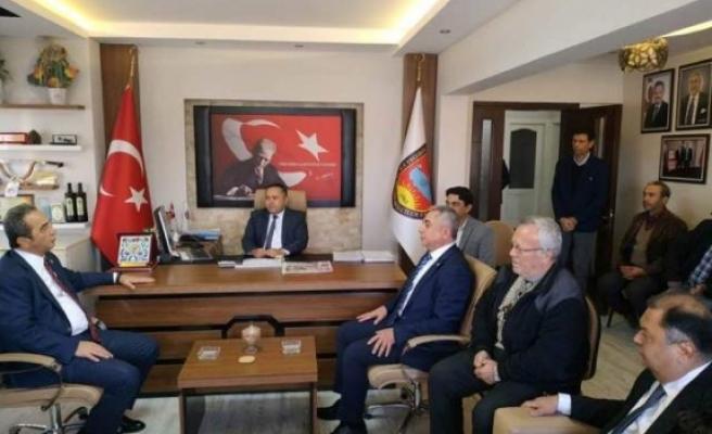 CHP'li Tezcan, Çine'de STK'ları Ziyaret Etti