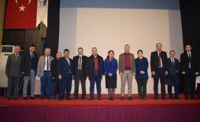 """Çine'de """"Prof. Dr. Fuat Sezgin"""" Konulu Konferans"""
