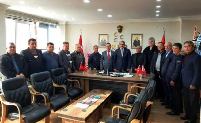 Çine MHP'den Alıcık'a Hayırlı Olsun Ziyareti
