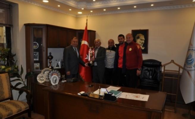 Çine Madranspor, Çine Belediye Başkanını ziyaret etti