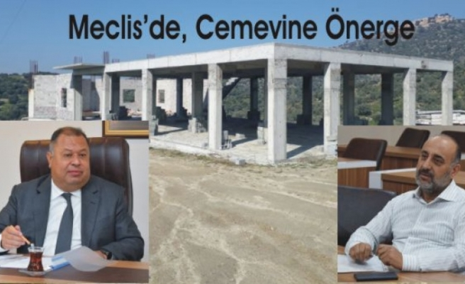 Meclis Üyesi Demir''den, Meclise Cemevi Önergesi