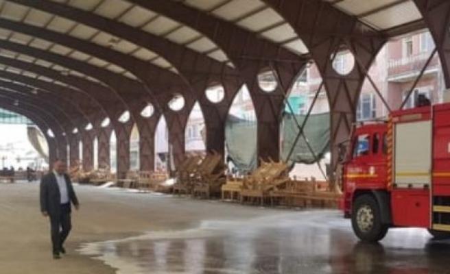 Çine Belediyesi,  Perşembe Pazarında Önlemleri Aldı