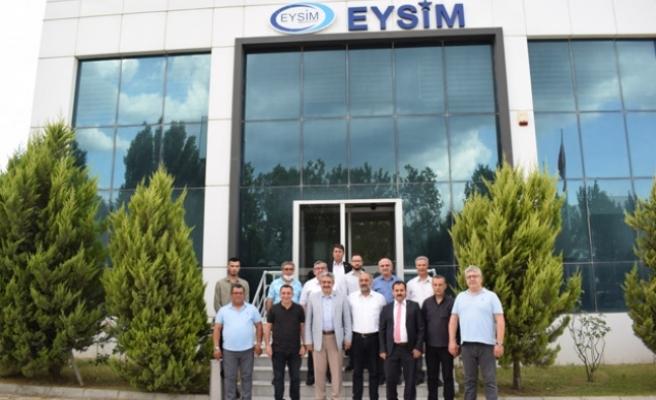 EYSİM Madeni MHP Heyeti ziyaret etti