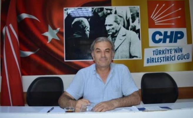 """CHP İlçe Başkanı Şahin, """"Aklınızı kendinize saklayın"""""""