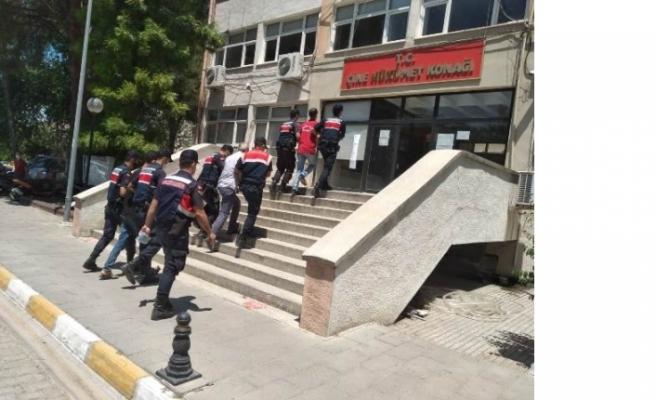 Çine'de, Zanlılar tutuklandı