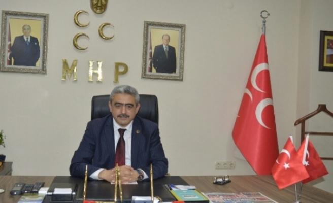 MHP İl Başkanı Alıcık; Malazgirt haç ile hilalin, hak ile batılın çarpışmasıdır