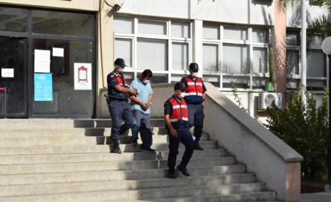 Gökyaka'da eniştesini öldüren zanlı tutuklandı
