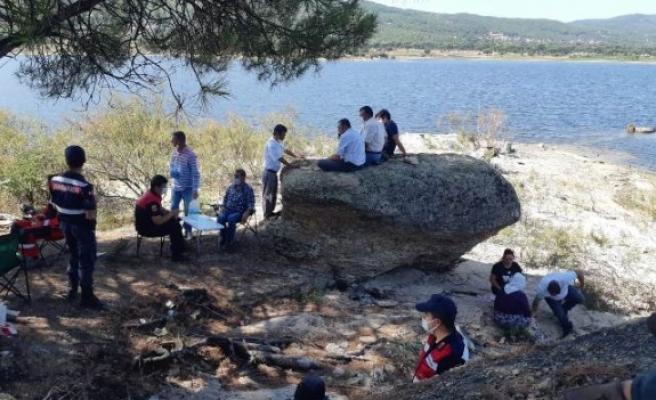 Gölde kaybolan Çineli genci arama çalışmaları devam ediyor