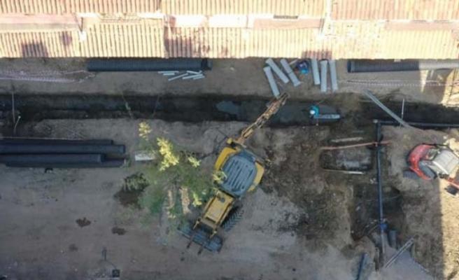 ASKİ Çine'de alt yapı çalışmalarına devam ediyor