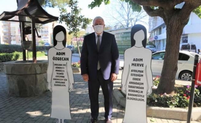 Başkan Atay'dan Kadın Cinayetlerine Karşı Farkındalık
