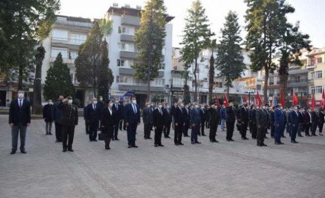 Çine'de 10 Kasım Atatürk'ü Anma Töreni Gerçekleşti