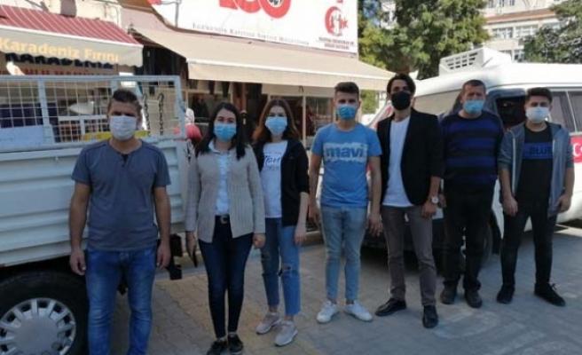 Çineli CHP'lilerden İzmirli Depremzedelere Yardım
