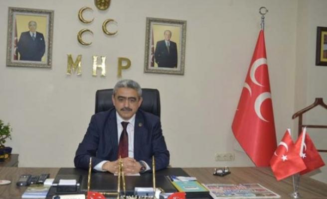 MHP İl Başkanı Alıcık, öğretmenler gününü kutladı