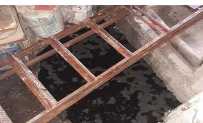 Çine'de, Tuvalet Çöktü: 1 Yaralı