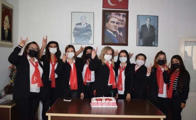 MHP Çine Kadın Kolları kamuoyuna tanıtıldı
