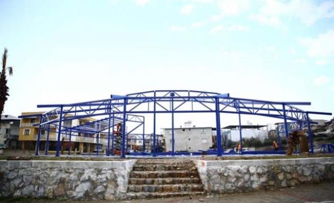 Aydın Büyükşehir Ortaklar'da cemiyet alanı yapıyor