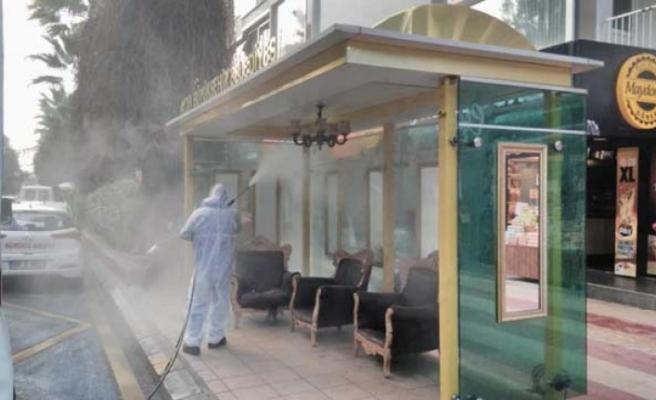 Aydın'da dezenfeksiyon çalışmaları devam ediyor