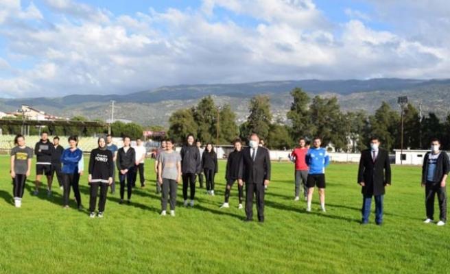 Belediye'den Gençlere ücretsiz POMEM hazırlık parkur kursu