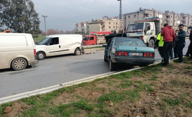 Çine'de kaza: 1 yaralı