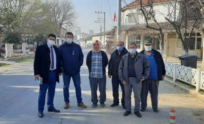 Çine Belediyesinden tek tek muhtarlara ziyaret