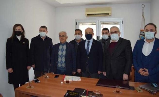 Yavuz, Çine'de STK'ları ziyaret etti